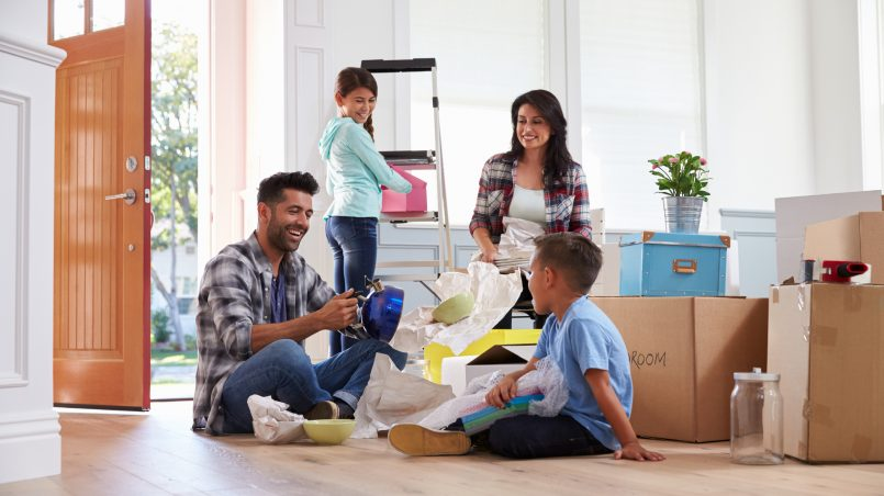 Six Tips for Moving With A Young Family