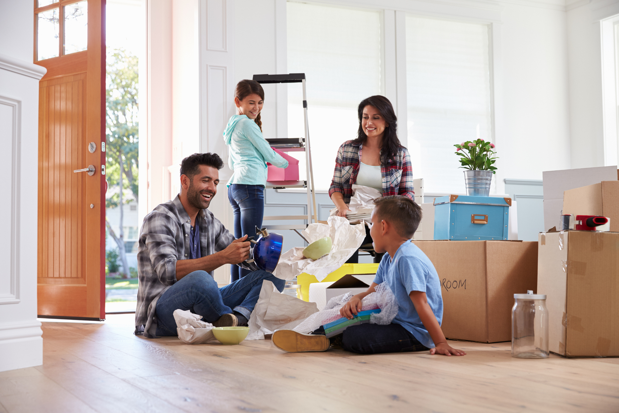 Six Tips for Moving with a Young Family | Optimove Removals
