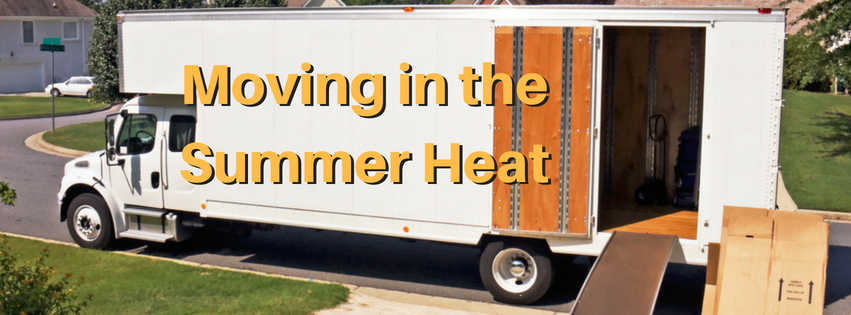 5 Tips To Survive Moving In The Heat