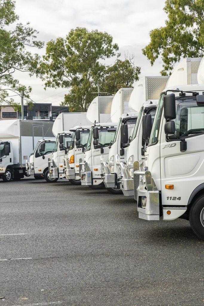Moden Removalist Trucks
